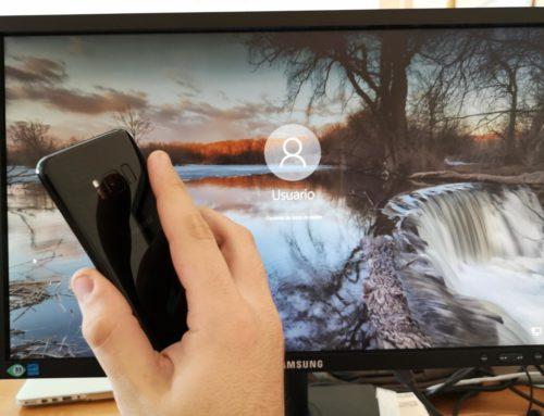 Cómo desbloquear Windows 10 con la huella del teléfono o tablet