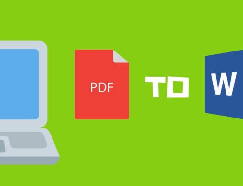 Cómo convertir PDF a documento Word